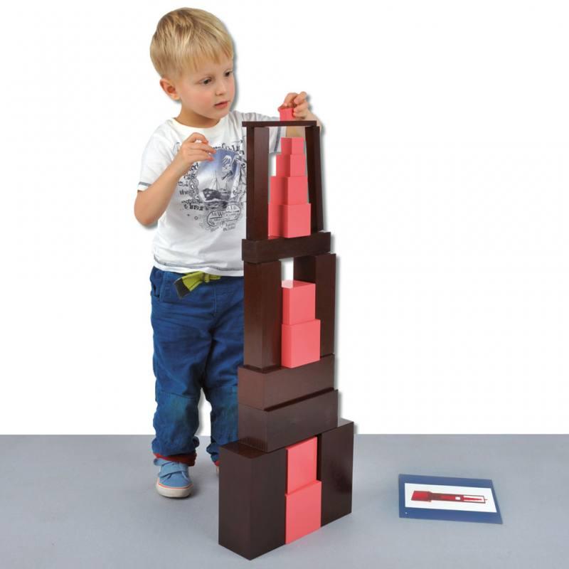rosa turm und braune treppe hier online bestellen. Black Bedroom Furniture Sets. Home Design Ideas