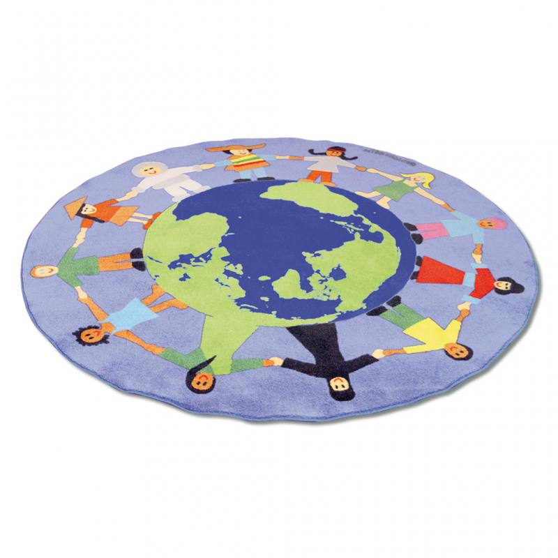 "Teppich ""Kinder unserer Welt"""