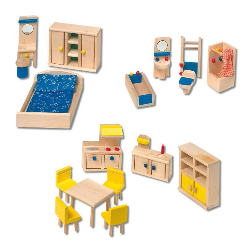 "Puppenhaus-Möbelset ""Klassisch"""
