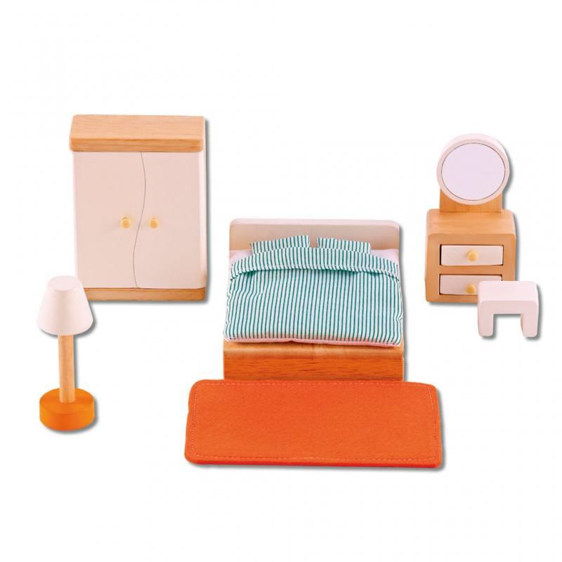 Puppenhausmöbel - Schlafzimmer