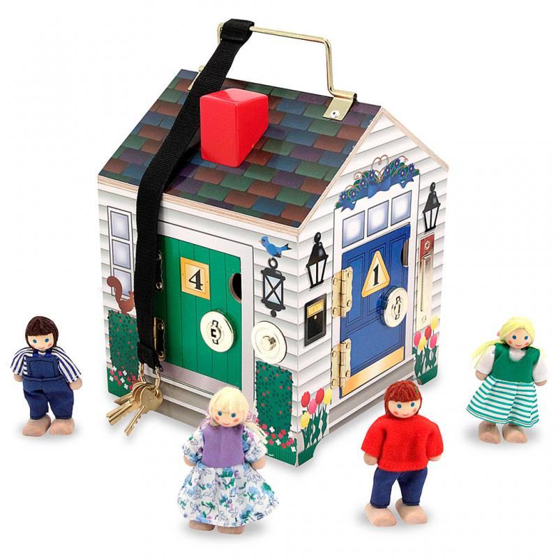 Lernhaus mit Klingeln und Schlössern