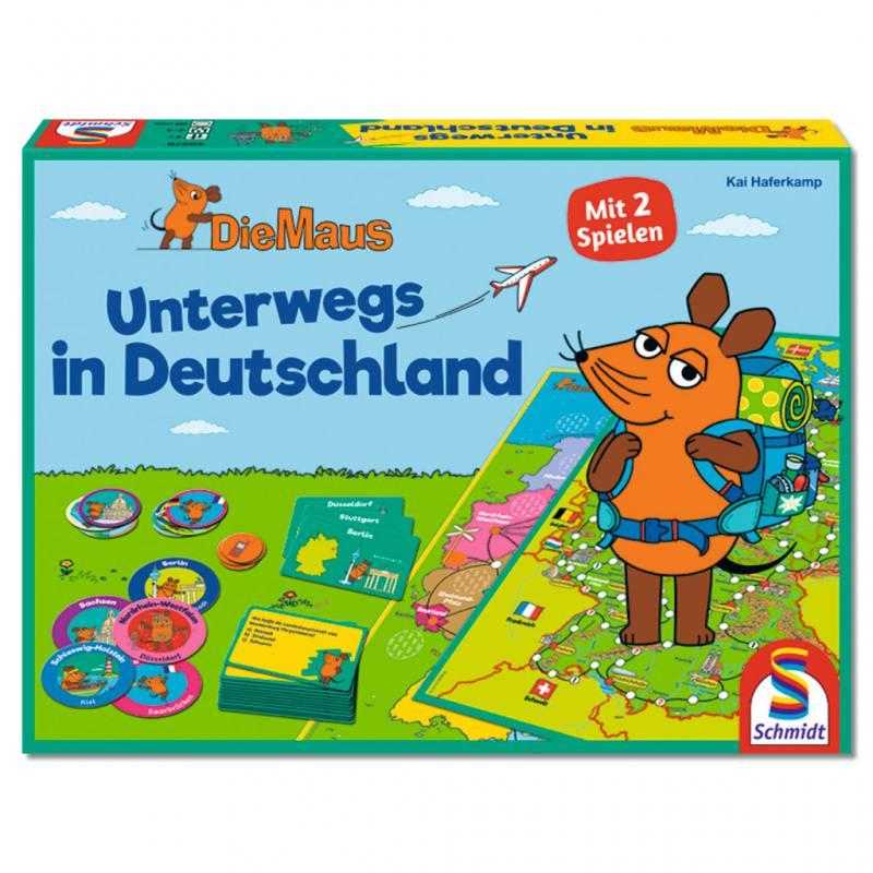 Unterwegs in Deutschland Spiel
