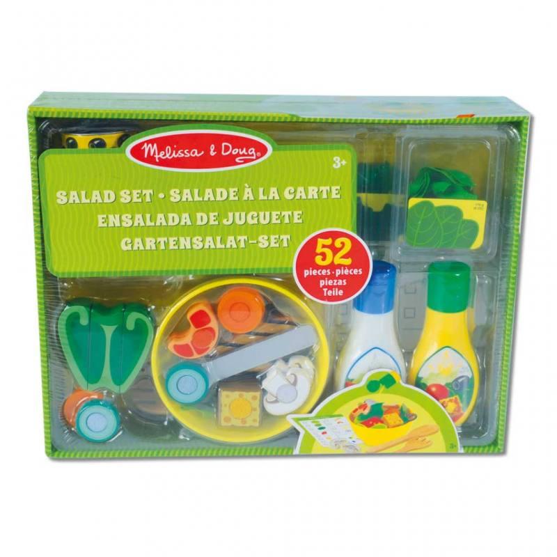 Salat-Spielzeug im Set