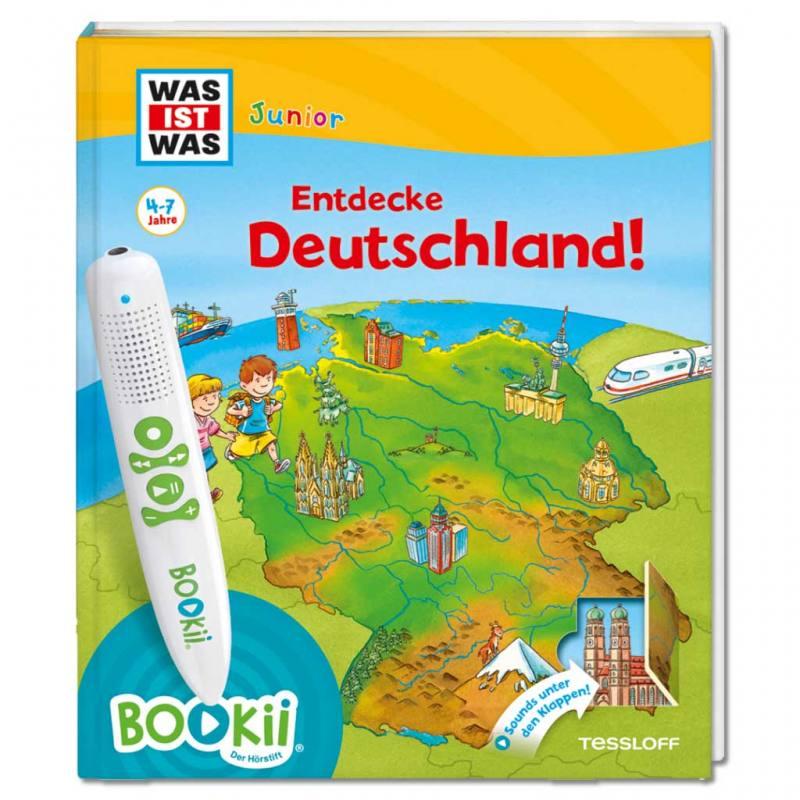 """BOOKii® """"Entdecke Deutschland"""" – Interaktives Kinderbuch"""
