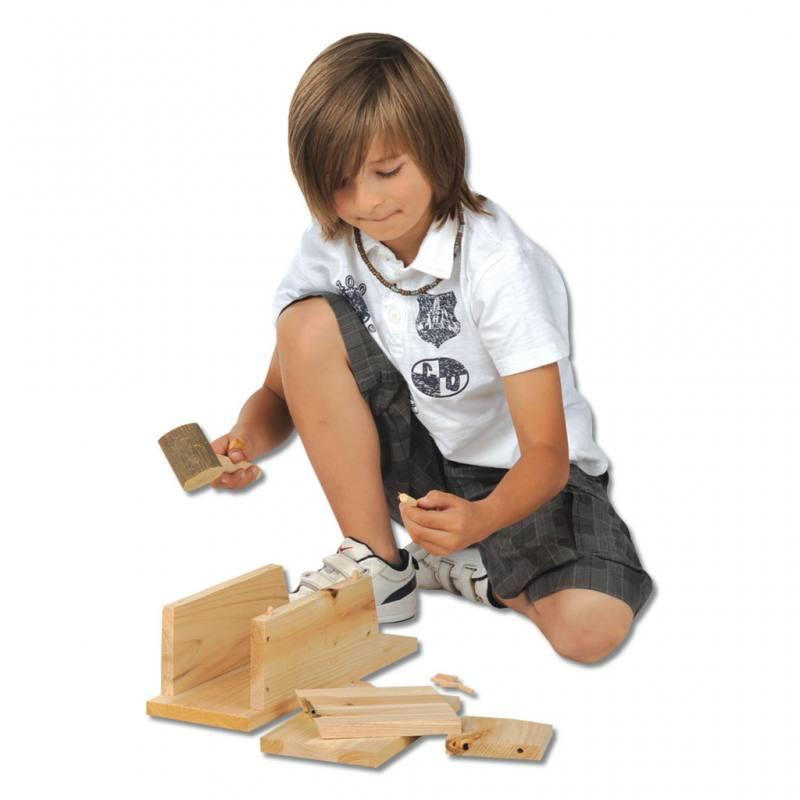 Nistkasten-Bausatz für Kinder