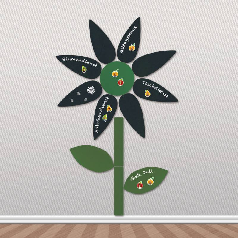 Blume aus MDF-Platte