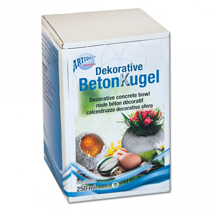 Bastelset Betonkugel - Anfangs-Set
