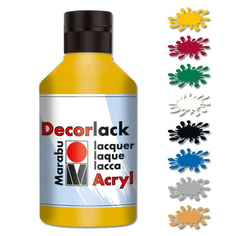 Marabu Acryllack - in 8 Farben lieferbar