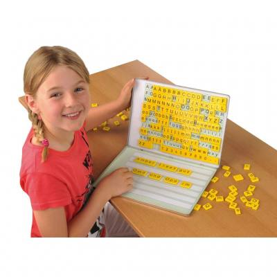 """Magnetbox """"ABC-Drache"""" zum Deutsch lernen"""