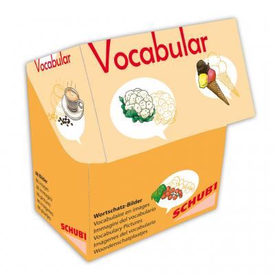 Vocabular – Bilderbox - Obst, Gemüse, Lebensmittel