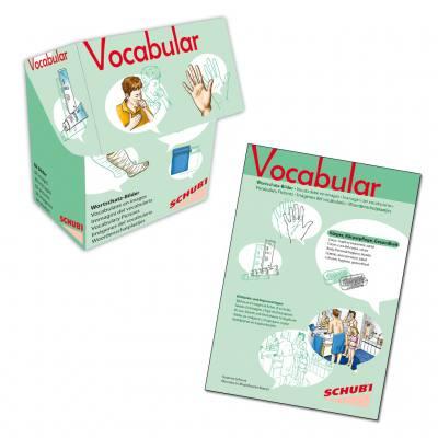Vocabular – Bilderbox & Kopiervorlagen - Körper, Körperpflege, Gesundheit