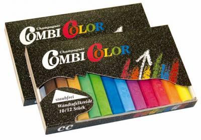 Combi Color Tafelkreide - 12 farbig sortiert