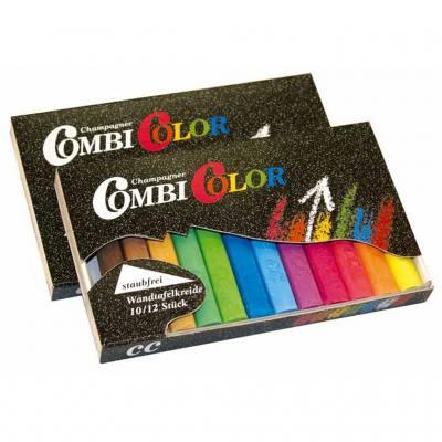 Combi Color - Tafelkreide - 12 farbig sortiert