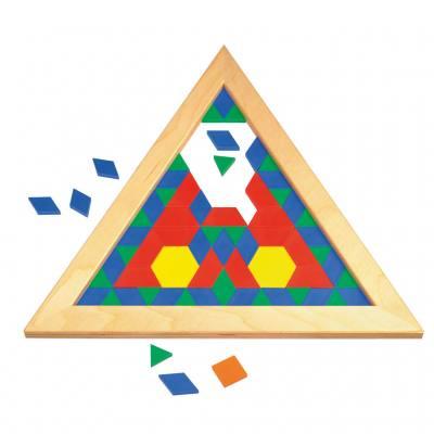"Pattern-Legerahmen ""Dreieck"""