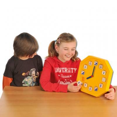 Zeit-Zeiger (Lern- und Spieluhr)