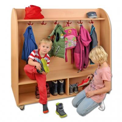 Garderoben for Garderobenwagen holz