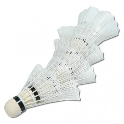 6 Badmintonbälle