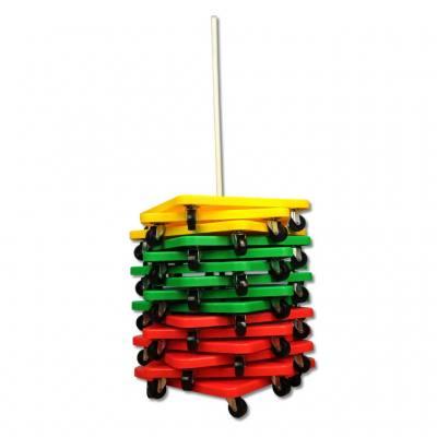 Rollbrett-Ständer - für 15 Rollbretter