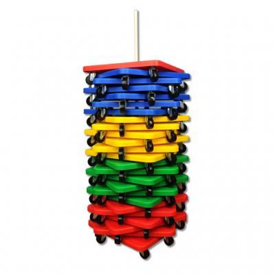 Rollbrett-Ständer - für 25 Rollbretter
