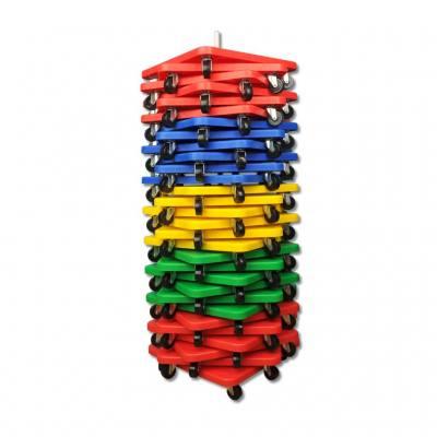 Rollbrett-Ständer - für 30 Rollbretter