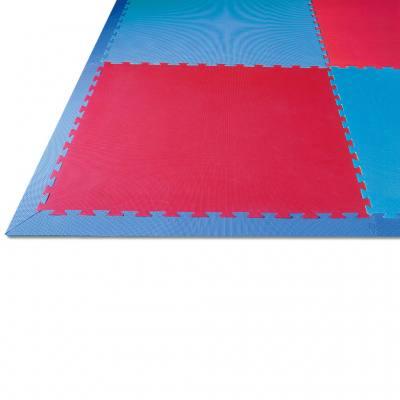 Spar-Set Spiel- und Sportteppich - blau/rot