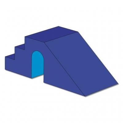 Treppenrutsche für Quadratisches Ballbad