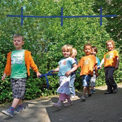 Sicherheitsleine für 6 Kinder