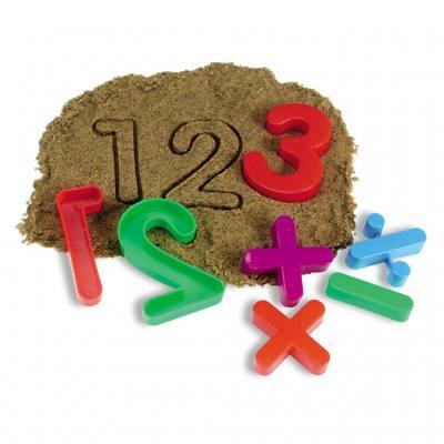 26 Sandformen - Zahlen
