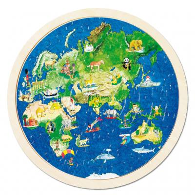 """Puzzle """"Die Erde"""""""
