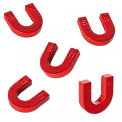 5 Hufeisen-Magnete