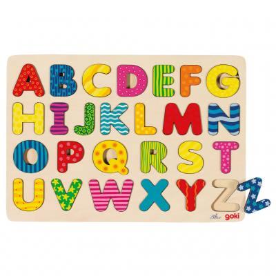 Alphabet-Puzzle A bis Z