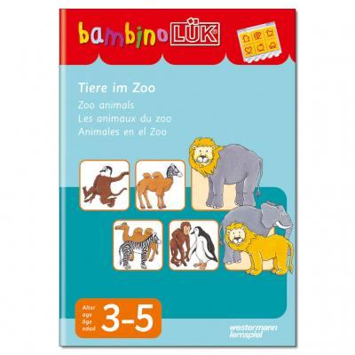 Tiere im Zoo - bambinoLÜK