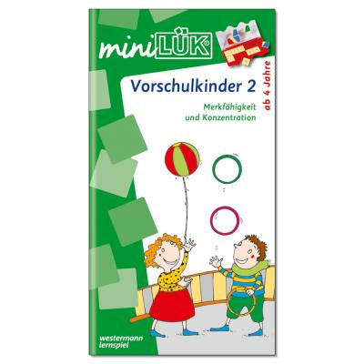 Übungen für Vorschulkinder 2 - miniLÜK