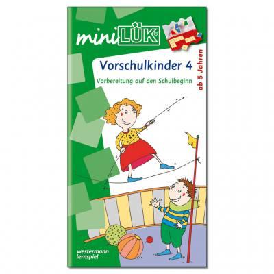 Übungen für Vorschulkinder 4 - miniLÜK
