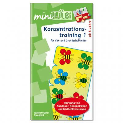 Konzentrationstraining 1 - miniLÜK