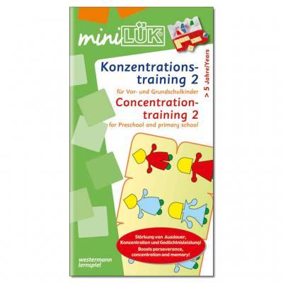 Konzentrationstraining 2 - miniLÜK