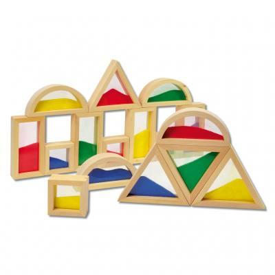 Fensterbausteine - Blocks mit Sand
