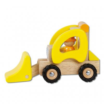 Holzauto Bagger