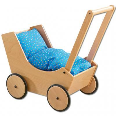 Haba Puppenwagen - natur