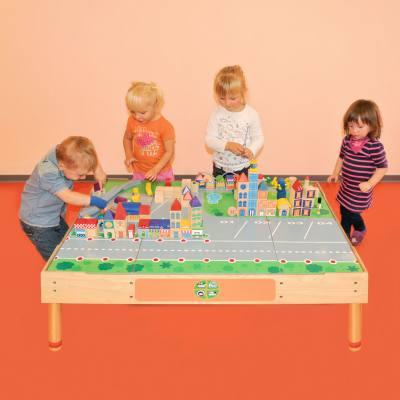 Großer Stadt-Spiel-Tisch