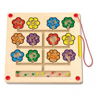 Magnetspiel Blumen