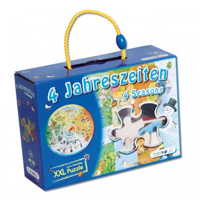 """XXL-Lernspielpuzzle """"4 Jahreszeiten"""""""