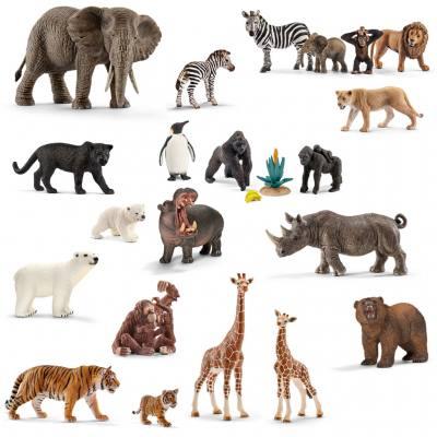 Wildtiere im Set