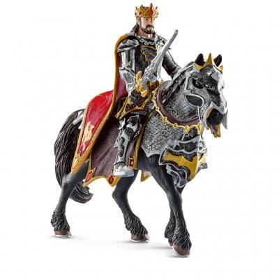 Schleich - Drachenritter König zu Pferd