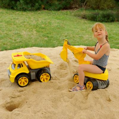 Kindergarten-Set - BIG-Power-WorkerTruck und Maxi-Digger