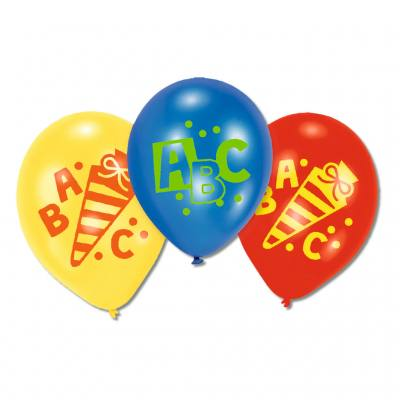 Luftballons ABC