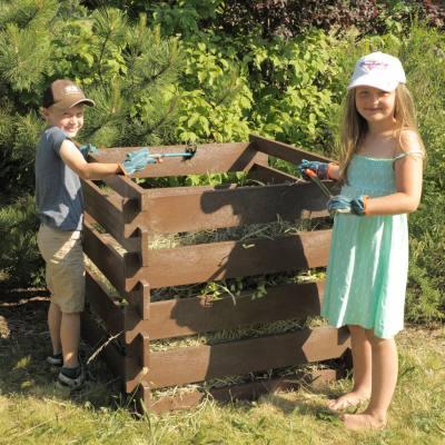 Steckkomposter für Schul- und Kindergarten