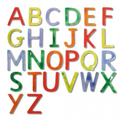 Flüssigkeitsbuchstaben
