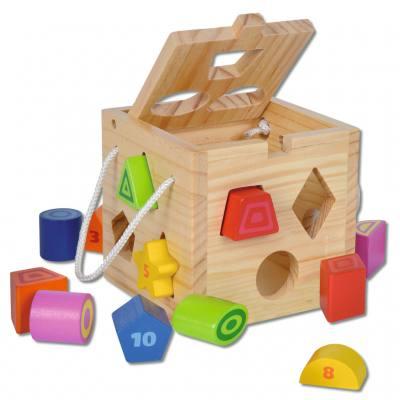 Formensteckbox aus Holz