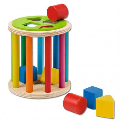 Sortierspiel aus Holz